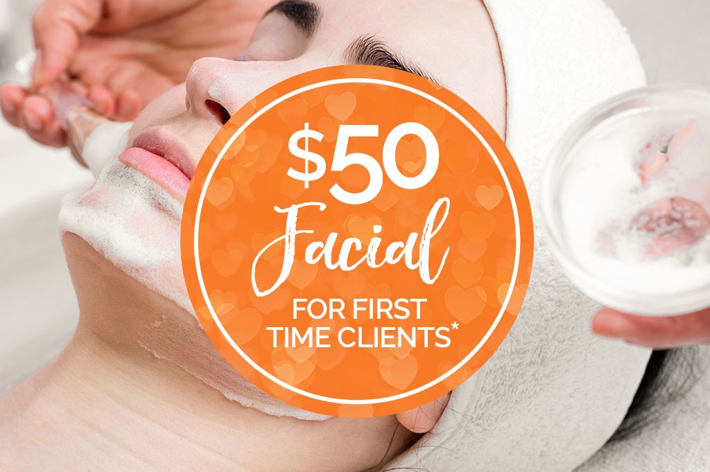 $50 Facial for first time clients